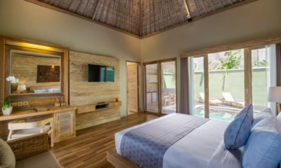 Adiwana Arkara Villas Bedroom with Pool View | Ubud, Bali