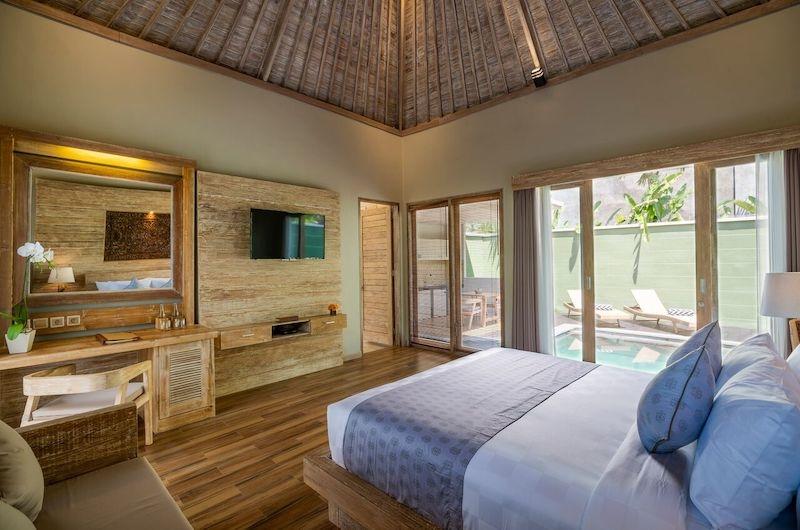 Adiwana Arkara Villas Bedroom with Pool View   Ubud, Bali