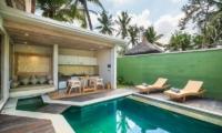 Adiwana Arkara Villas Outdoor Seating with Swimming Pool   Ubud, Bali