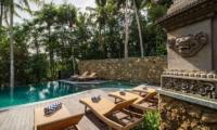 Adiwana Arkara Villas Sun Deck with Infinity Pool   Ubud, Bali