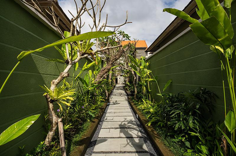 Adiwana Arkara Villas Alleyway   Ubud, Bali
