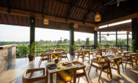 Adiwana Arkara Villas Restaurant with Garden View   Ubud, Bali
