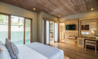 Adiwana Arkara Villas Pool Side Bedroom   Ubud, Bali