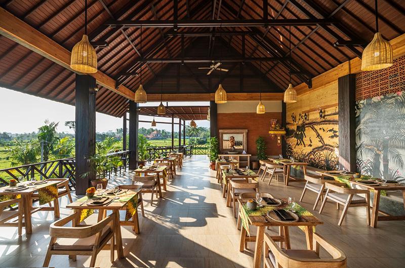 Adiwana Arkara Villas Restaurant   Ubud, Bali