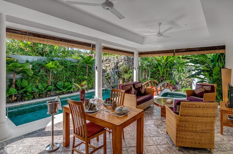Hevea Villas One Bedroom Villa Seating | Seminyak, Bali