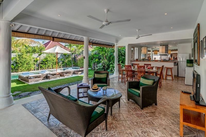 Hevea Villas Two Bedroom Villa Seating Area | Seminyak, Bali