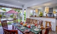 Hevea Villas Two Bedroom Villa Dining Area | Seminyak, Bali