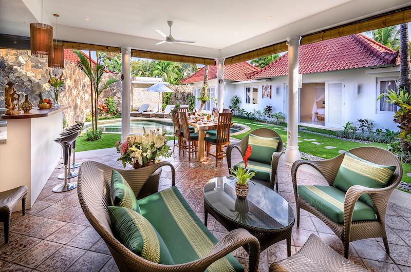 Hevea Villas Two Bedroom Deluxe Villa Seating Area | Seminyak, Bali