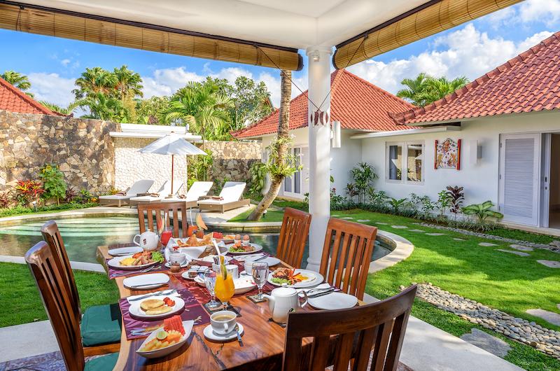 Hevea Villas Two Bedroom Deluxe Villa Dining Area | Seminyak, Bali