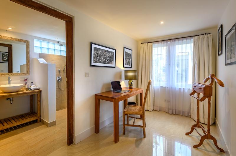 Hevea Villas Two Bedroom Deluxe Villa Study Area | Seminyak, Bali