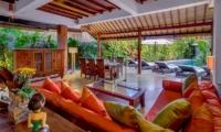 Hevea Villas Three Bedroom Villa Living Area | Seminyak, Bali