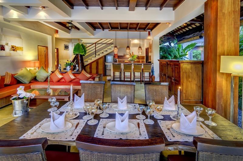 Hevea Villas Three Bedroom Villa Dining Area | Seminyak, Bali