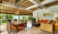 Hevea Villas Three Bedroom Villa Deluxe Living Area | Seminyak, Bali
