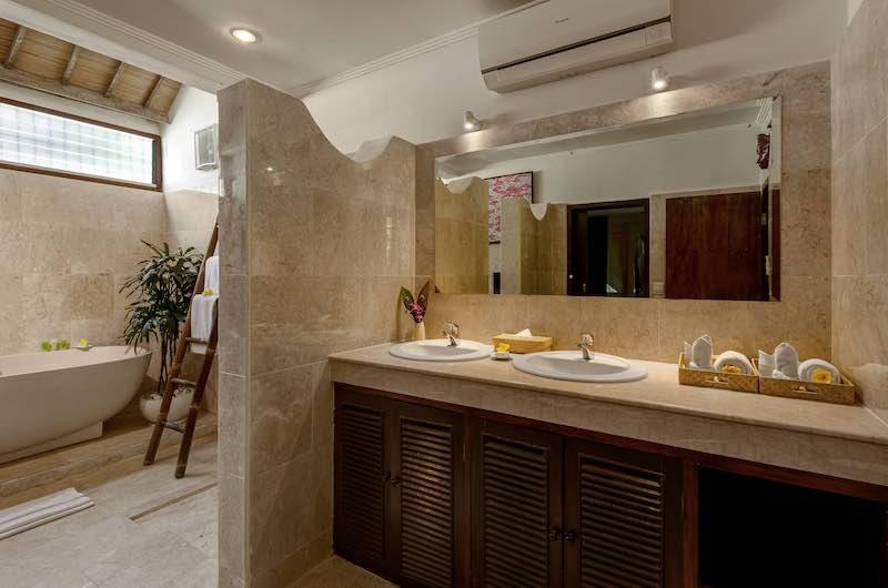 Hevea Villas Three Bedroom Villa Deluxe Bathtub Area | Seminyak, Bali