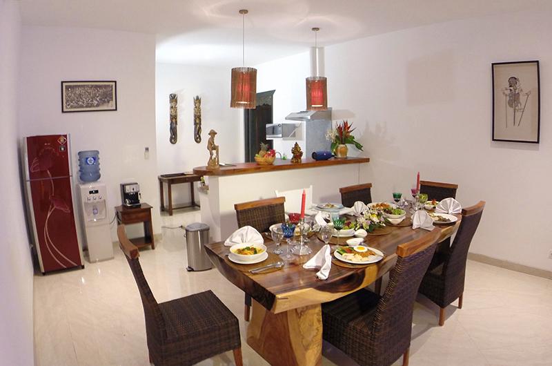 Hevea Villas Villa Vanda Dining Area | Seminyak, Bali