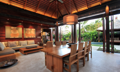 Suar Villas Tiga Dining Area | Seminyak, Bali