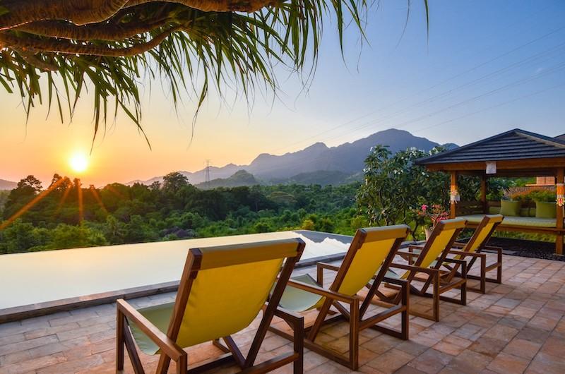 Sumberkima Hill Villas Villa Barong Pool Bale   North Bali, Bali