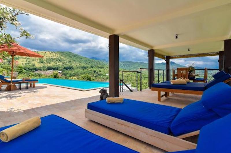 Sumberkima Hill Villas Villa Macan Sun Beds   North Bali, Bali
