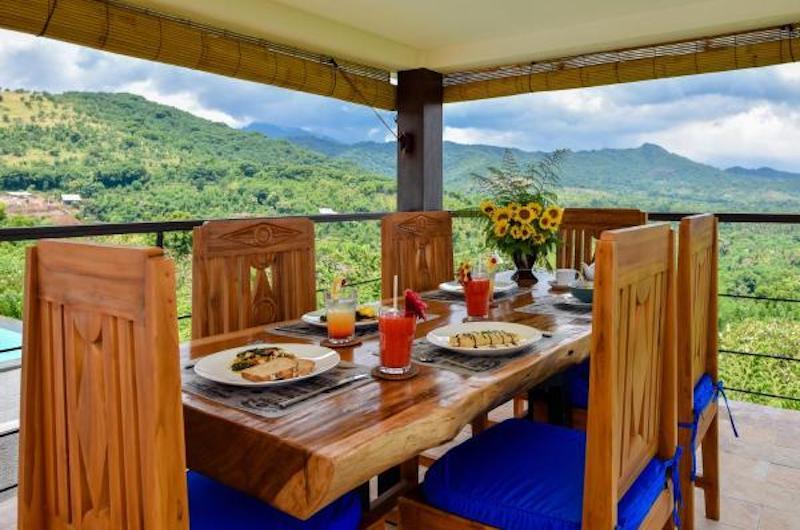 Sumberkima Hill Villas Villa Macan Dining Area   North Bali, Bali