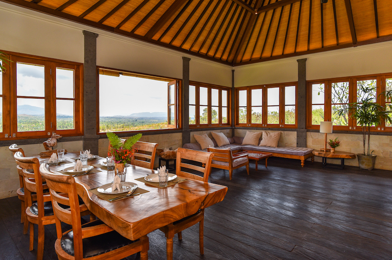 Sumberkima Hill Villas Villa Naga Dining Area | North Bali, Bali