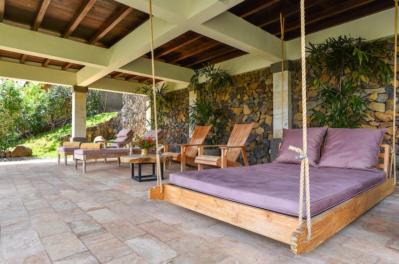 Sumberkima Hill Villas Villa Naga Lounge   North Bali, Bali