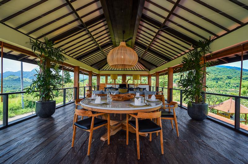 Sumberkima Hill Villas Villa Pipit Dining Area   North Bali, Bali