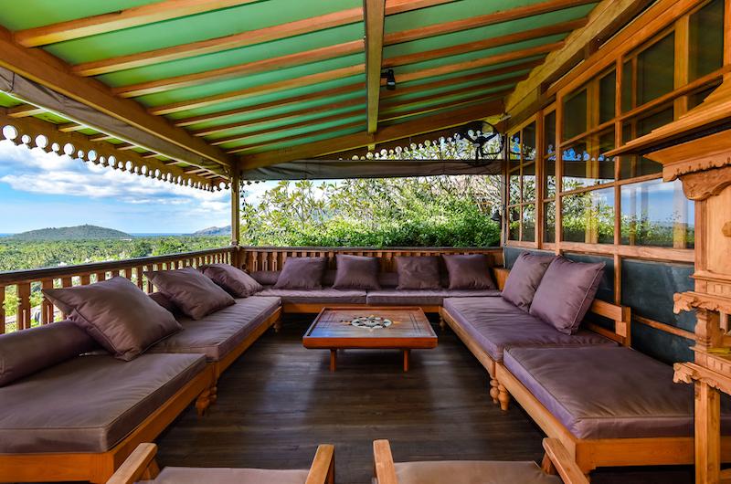 Sumberkima Hill Villas Villa Singa Lounge   North Bali, Bali