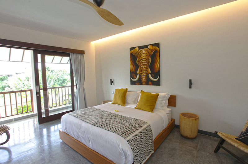 Villa Elite Mundano Bedroom with Lamps | Canggu, Bali