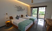 Villa Elite Mundano Twin Bedroom with Balcony | Canggu, Bali