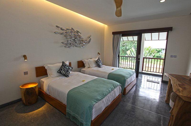 Villa Elite Mundano Twin Bedroom with Balcony | Canggu, Bali