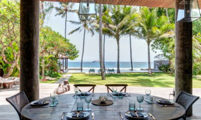 Villa Manis Beachfront Dinner Table | Candidasa, Bali