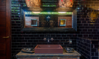 Villa Manis Beachfront Bathroom with Mirror | Candidasa, Bali