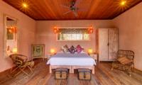 Villa Manis Beachfront Bedroom with Lamps | Candidasa, Bali