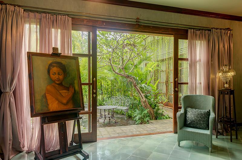 Villa Manis Beachfront Seating | Candidasa, Bali