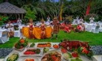 Villa Sipo Outdoor Dining with Balinese Dance Performance | Seminyak, Bali