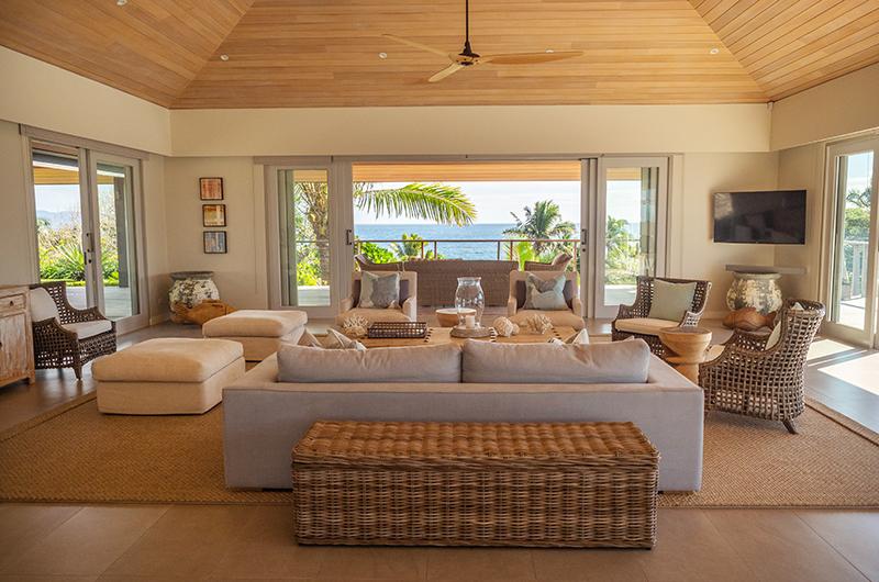 Villa Astrolabe Living Room | Yaukuvelevu, Fiji