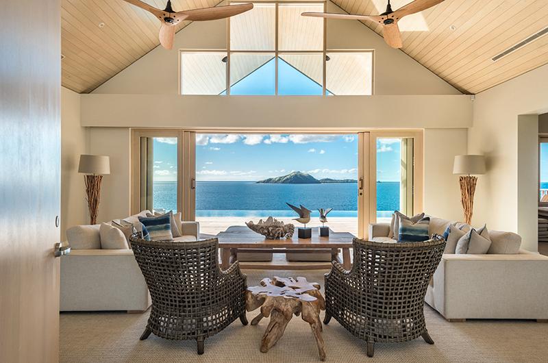 Villa Dravuni Open Plan Living Room | Yaukuvelevu, Fiji
