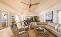 Villa Dravuni Living Room | Yaukuvelevu, Fiji