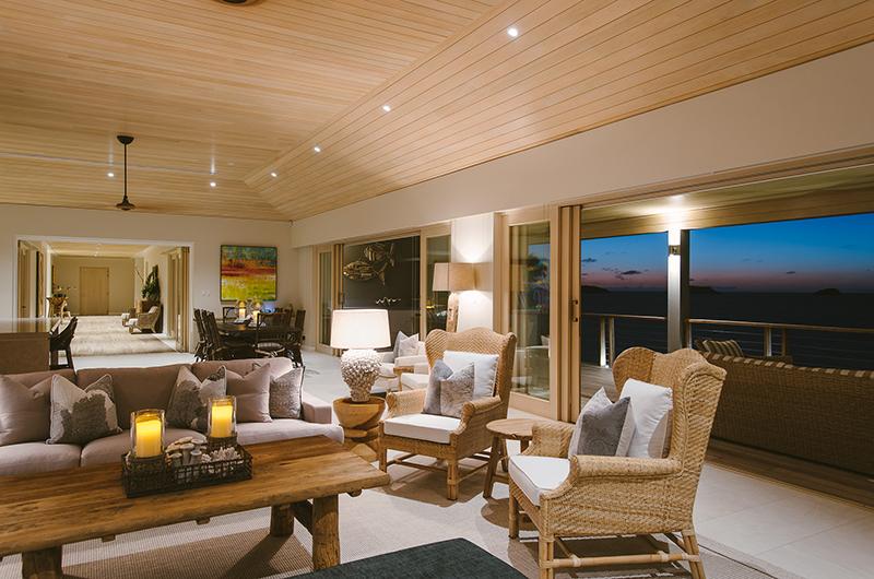 Villa Ocean Indoor Seating | Yaukuvelevu, Fiji