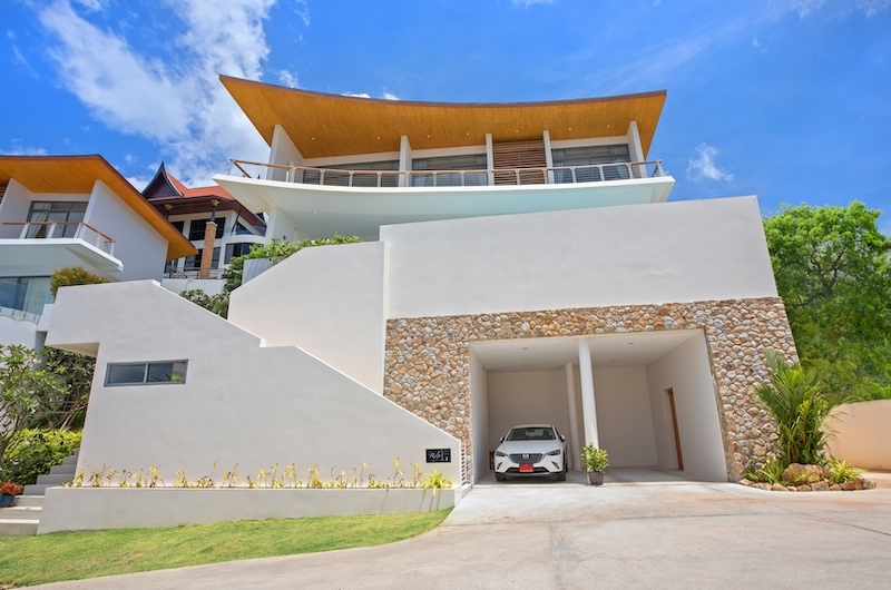 Villa Blue Ridge Entrance Area | Bophut, Koh Samui