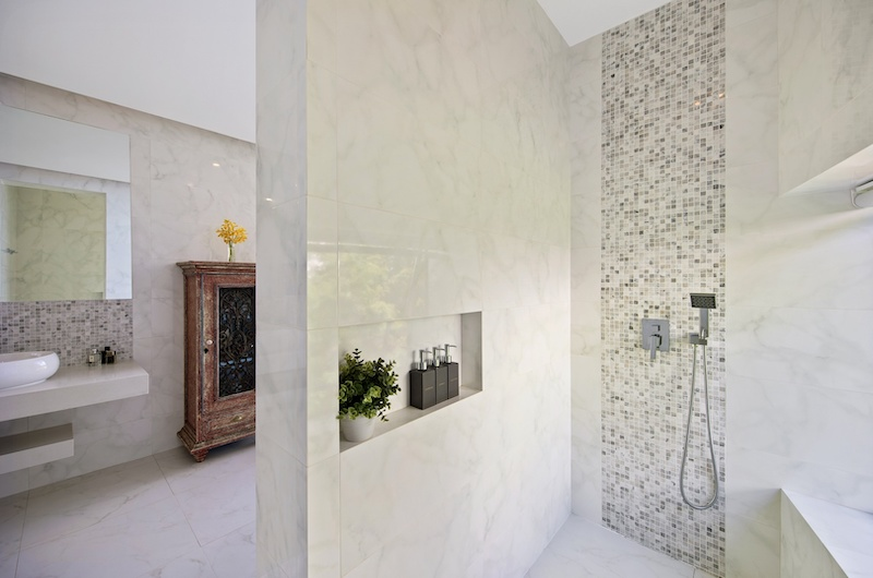Villa Blue Ridge Shower Area | Bophut, Koh Samui