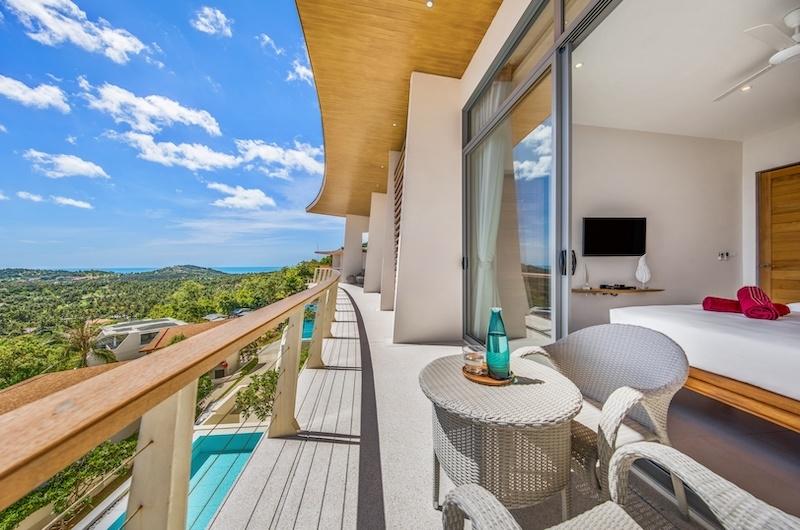 Villa Blue Ridge Balcony | Bophut, Koh Samui
