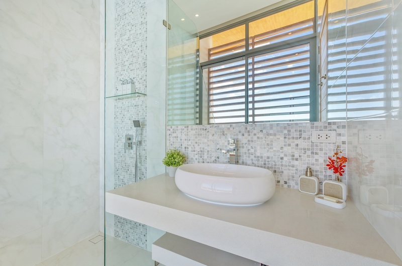 Villa Blue Ridge Shower | Bophut, Koh Samui