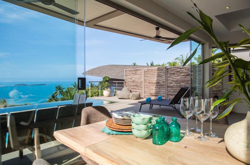 Villa Lanta Open Plan Dining Area | Chaweng, Koh Samui