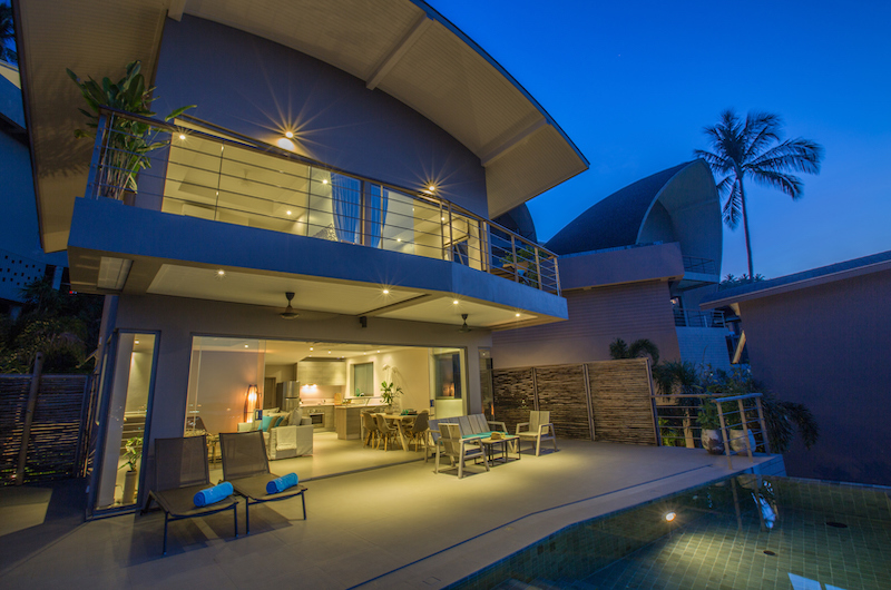 Villa Lanta Building Night View | Chaweng, Koh Samui
