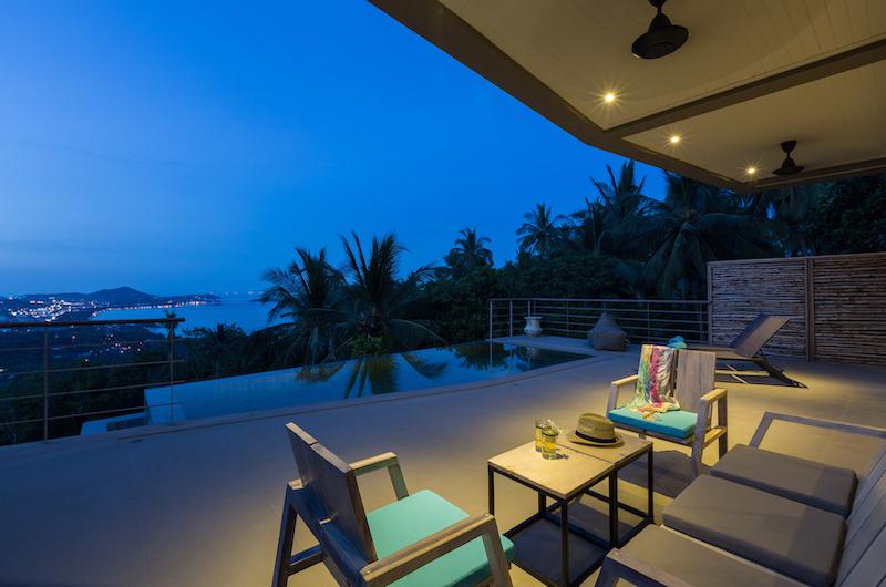 Villa Lipe Seating Area | Chaweng, Koh Samui
