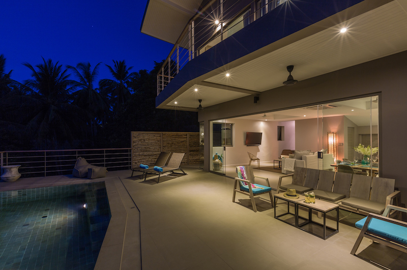 Villa Lipe Night View | Chaweng, Koh Samui