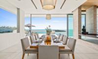 Villa Natha Open Plan Dining Area | Choeng Mon, Koh Samui