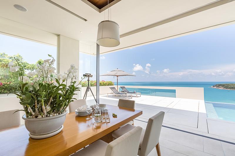 Villa Natha Dining Table | Choeng Mon, Koh Samui