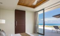 Villa Natha Bedroom with Ocean's View | Choeng Mon, Koh Samui